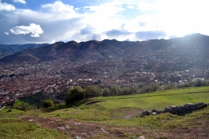 Gorgeous view of Cusco!