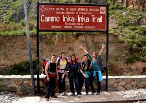 Day 1. Here we are at Kilometer 82, the start of the Inka Trail!