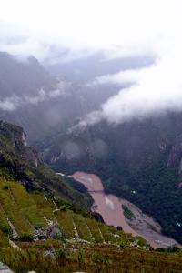 The Urubamba River.