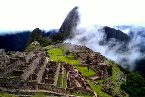 Machu Picchu in all its mystical glory :D