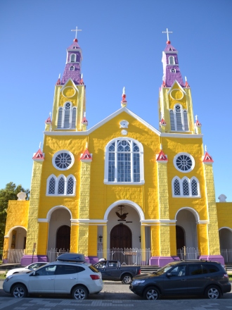 The church in Castro.