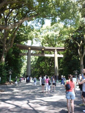 Entrance to the Meiji Shrine